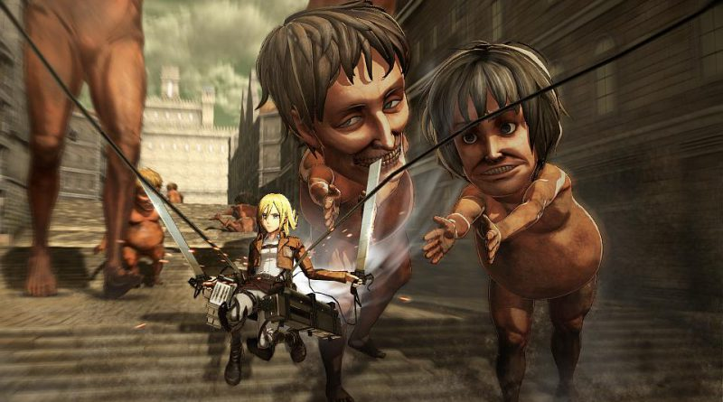 Attack On Titan PS Vita PS3 PS4