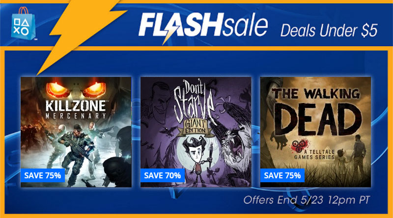 Deals Under $5 Flash Sale PS Vita PSP