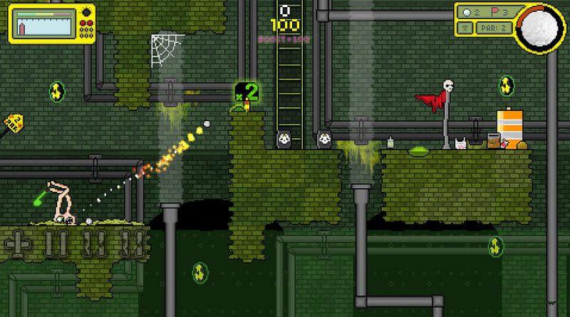 Nuclear Golf PS Vita PS4