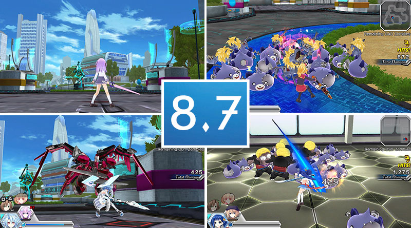 MegaTagmension Blanc + Neptune VS Zombies PS Vita Review