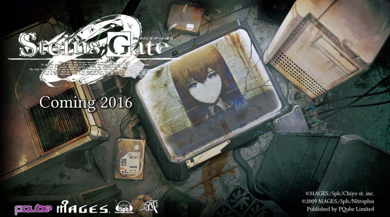 Steins;Gate 0 PS Vita PS4