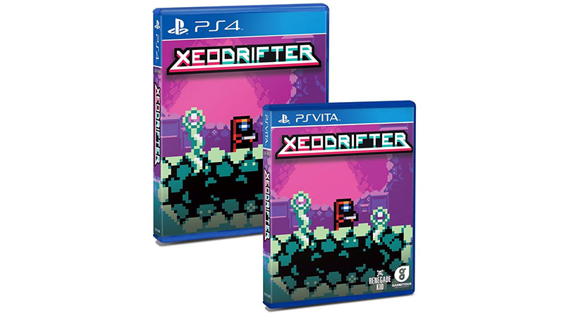 Xeodrifter PS Vita PS4 Limited Physical Release