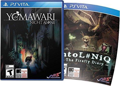 Yomawari: Night Alone htoL#NiQ: The Firefly Diary PS Vita Bundle