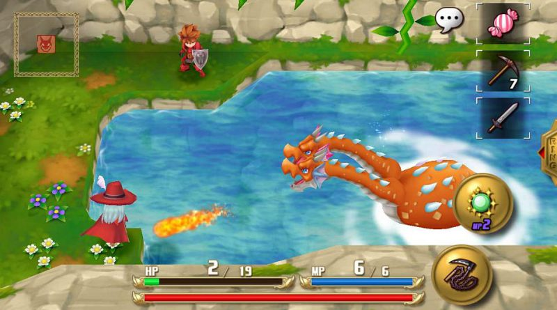 Adventures of Mana PS Vita