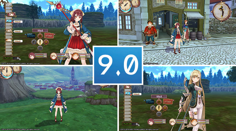 Review Atelier Sophie: The Alchemist of The Mysterious Book PS Vita