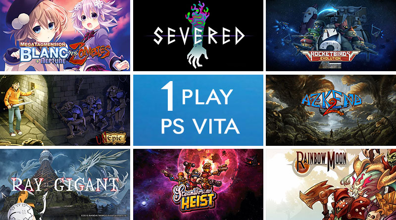 I Play PS Vita 1st Birthday Celebration Giveaway