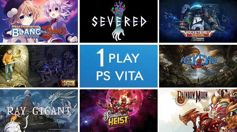 I Play PS Vita 1st Birthday Celebration Giveaway