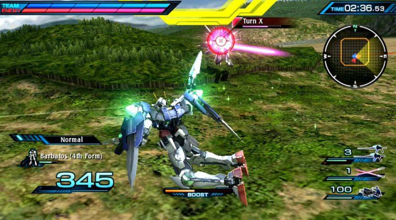 Mobile Suit Gundam: Extreme VS Force PS Vita