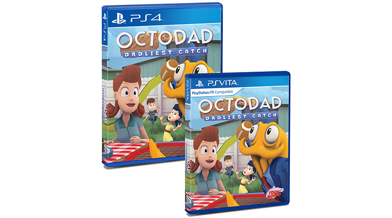 Octodad: Dadliest Catch Limited Physical PS Vita PS4 Editions