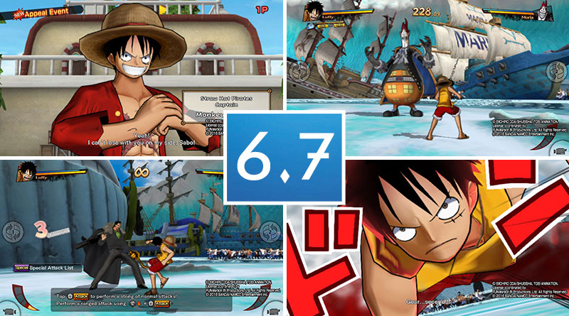 One Piece: Burning Blood PS Vita Review