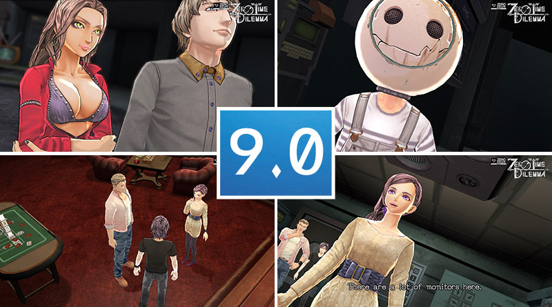 Review Zero Escape: Zero Time Dilemma PS Vita