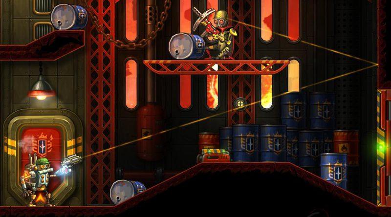 SteamWorld Heist PS Vita PS4