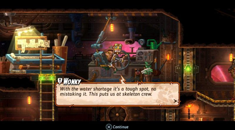 SteamWorld Heist PS Vita PS4