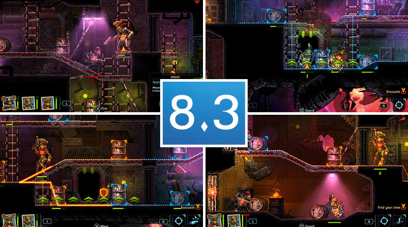 Review SteamWorld Heist PS Vita