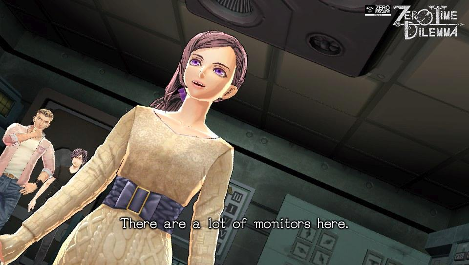 Zero Escape: Zero Time Dilemma PS Vita