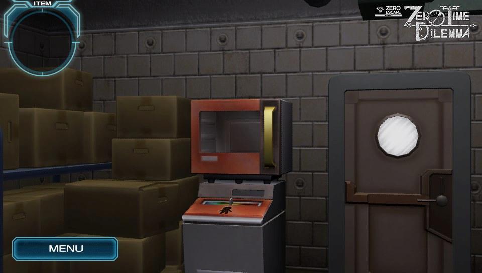 Zero Escape: Zero Time Dilemma PS Vita