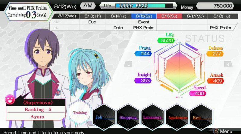 A.W.: Phoenix Festa PS Vita