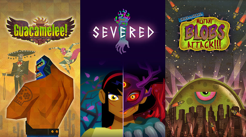 Drinkbox Vita Collection PS Vita Severed Guacamalee Tales from Space: Mutant Blobs Attack
