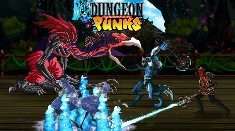 Dungeon Punks PS Vita PS4