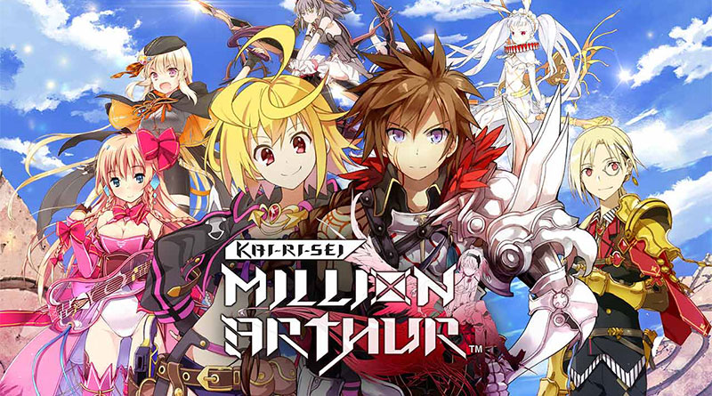 Kai-ri-Sei Million Arthur PS Vita PS4