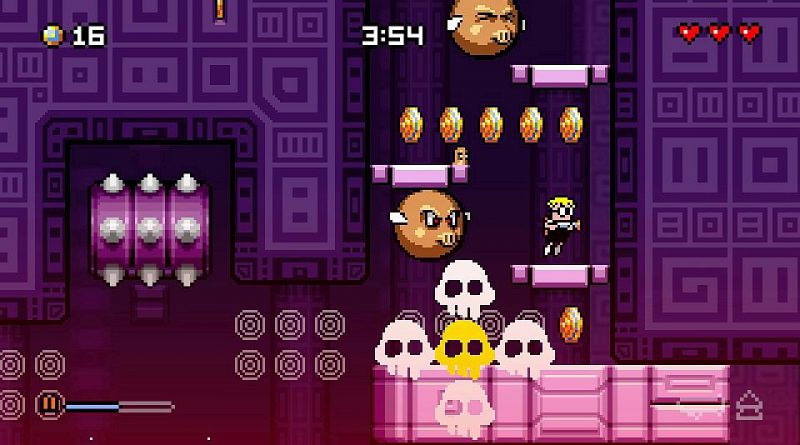 Mutant Mudds: Super Challenge PS Vita PS4