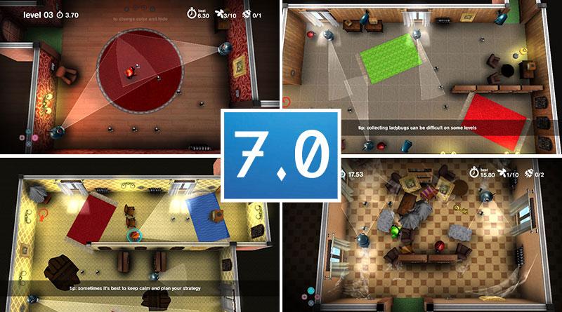 Review Spy Chameleon RGB Agent PS Vita