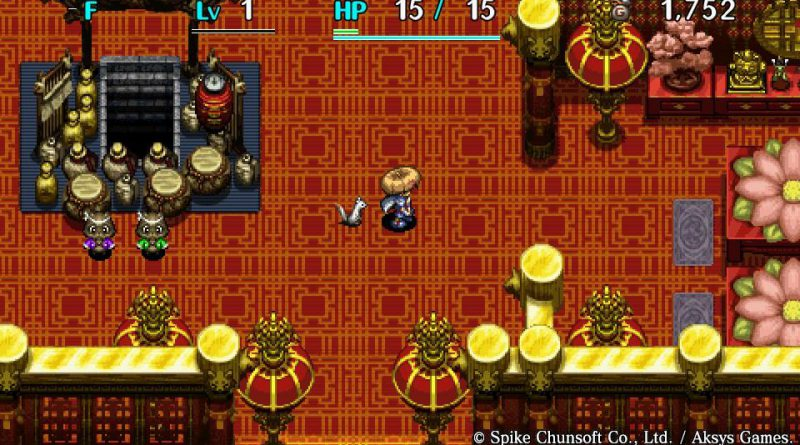 Shiren The Wanderer: The Tower of Fortune and the Dice of Fate PS Vita