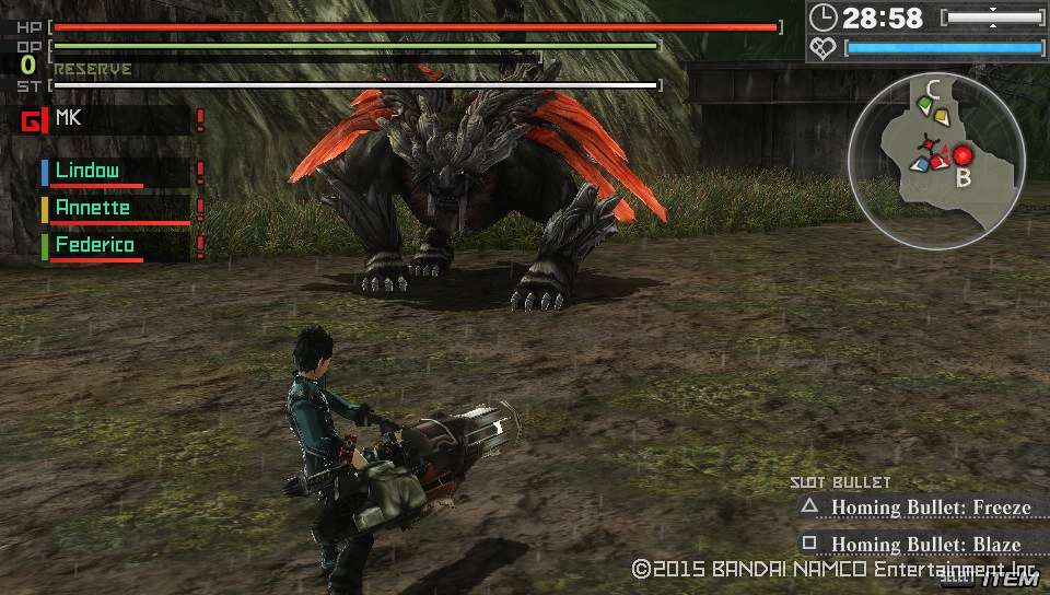 God Eater Resurrection PS Vita