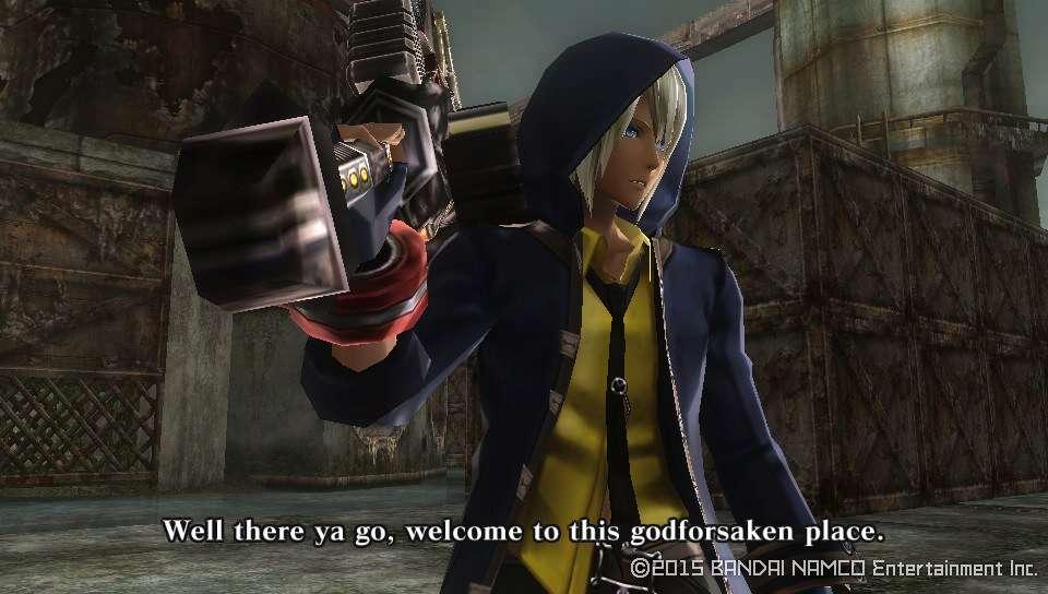 God Eater Resurrection PS Vita