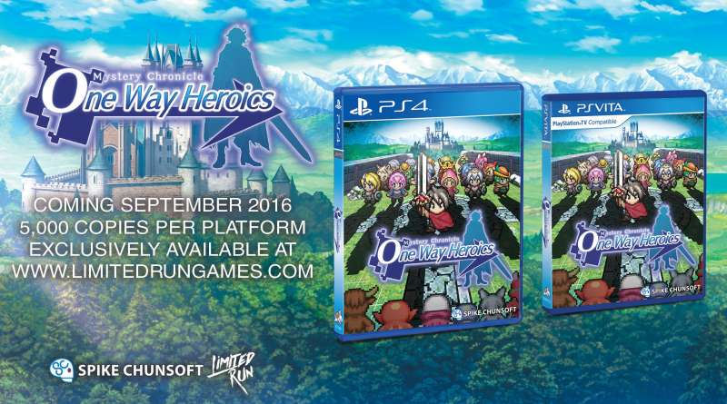 Mystery Chronicle: One Way Heroics PS Vita PS4
