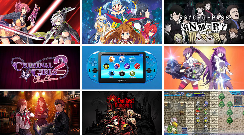 PS Vita New Releases September 2016