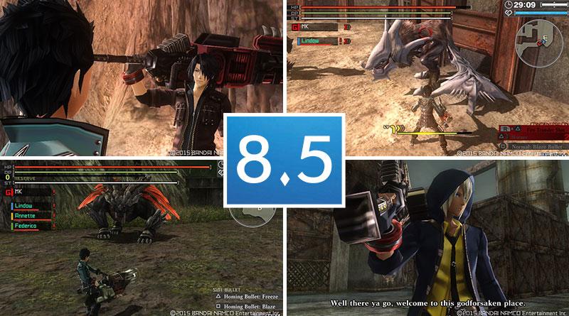 Review: God Eater Resurrection – PS Vita (8 5/10) | Handheld
