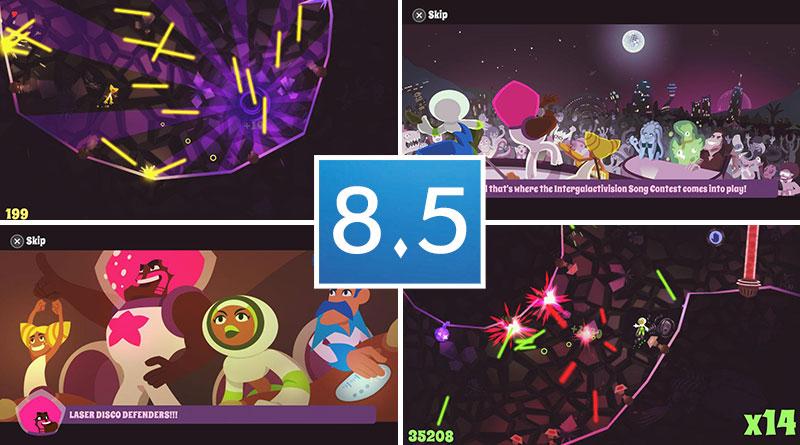Review Laser Disco Defenders PS Vita