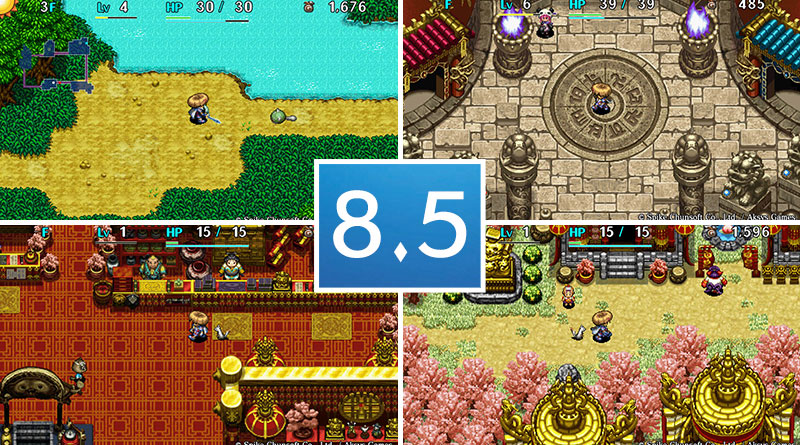 Review Shiren The Wanderer: The Tower of Fortune and the Dice of Fate PS Vita