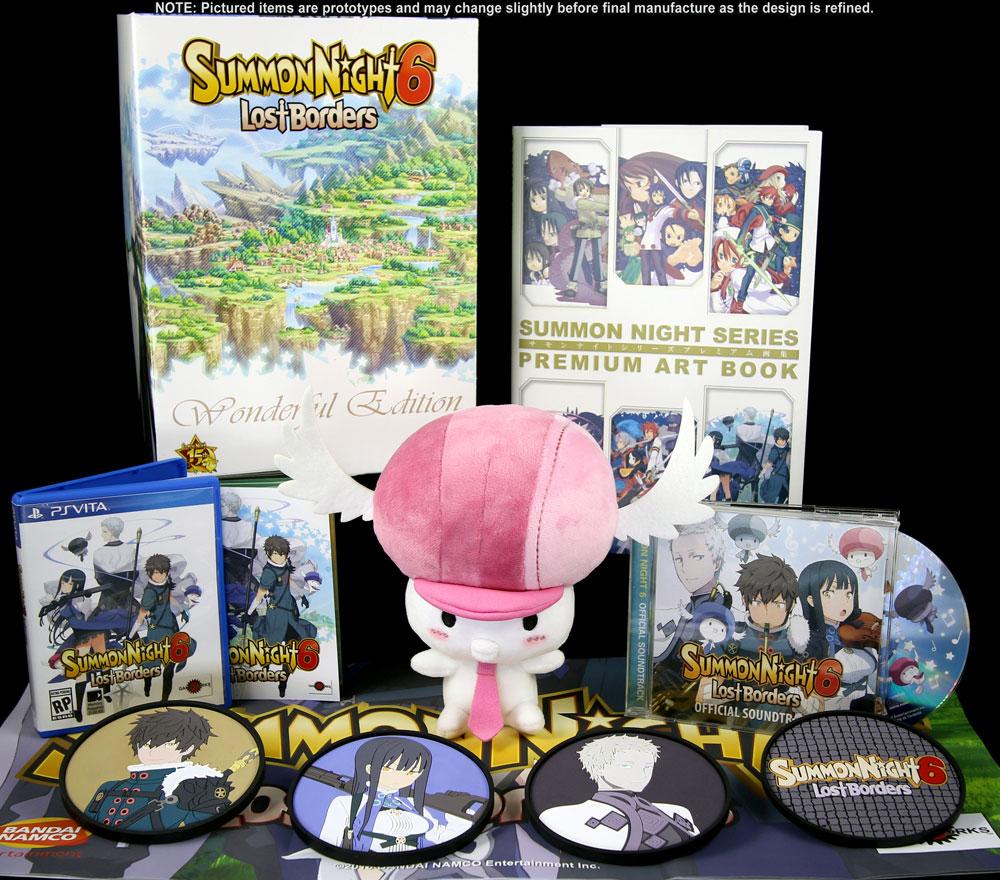 Summon Night 6: Lost Borders PS Vita Wonderful Edition