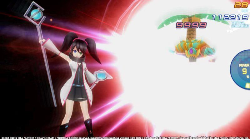 Superdimension Neptune VS Sega Hard Girls PS Vita