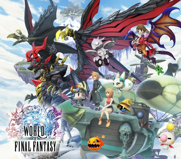 World of Final Fantasy Limited PS Vita Edition