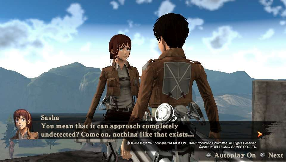 Attack on Titan PS Vita