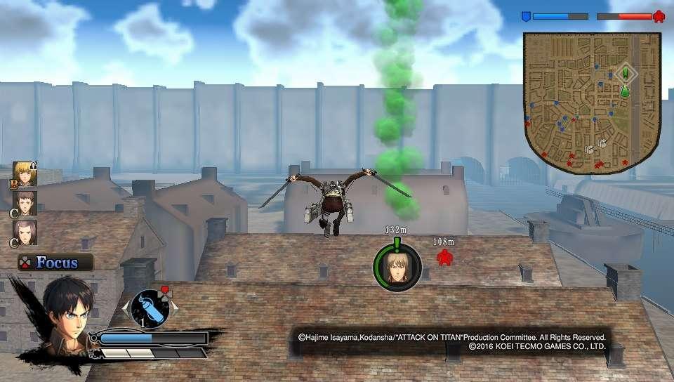 Attack on Titan PS Vita
