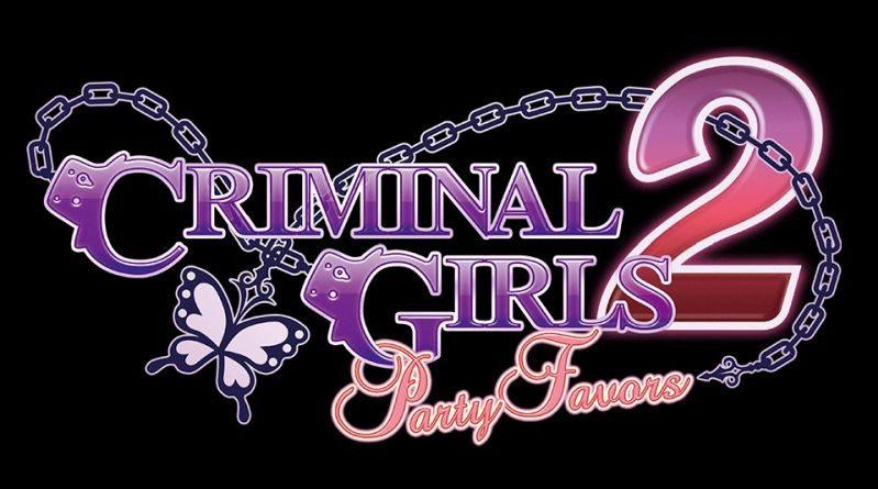 Criminal Girls 2: Party Favors PS Vita