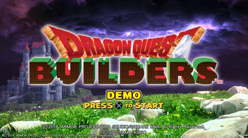 Dragon Quest Builders PS Vita PS4