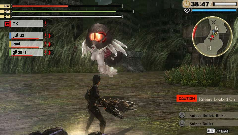 God Eater 2: Rage Burst PS Vita