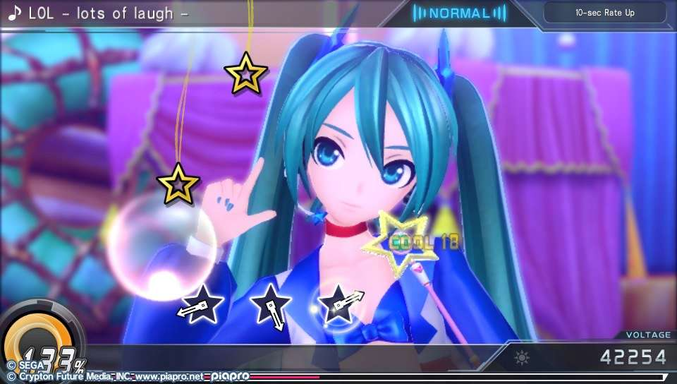 Hatsune Miku: Project Diva X PS Vita