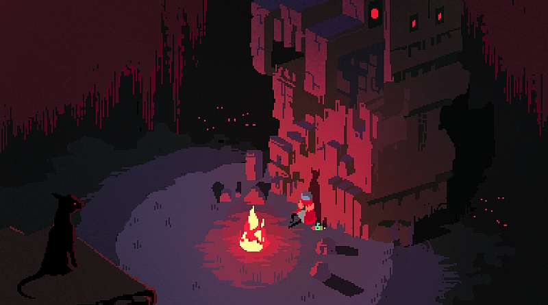 Hyper Light Drifter PS Vita