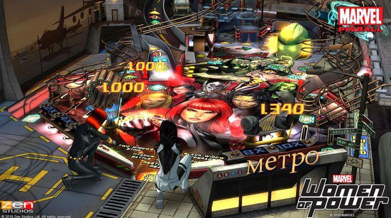 Marvel's Women of Power Pinball Pack PS Vita PS3 PS4