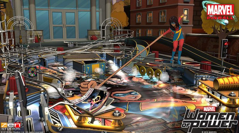 Marvel's Women of Power Pinball Pack PS Vita PS3 PS4