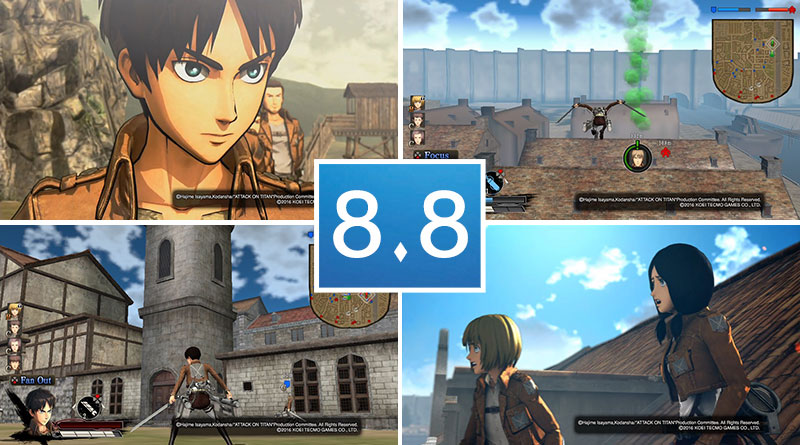 Review Attack on Titan PS Vita