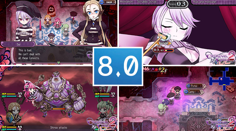 Criminal Girls 2: Party Favors PS Vita Review