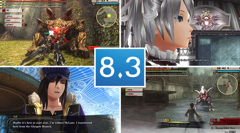 Review God Eater 2: Rage Burst PS Vita