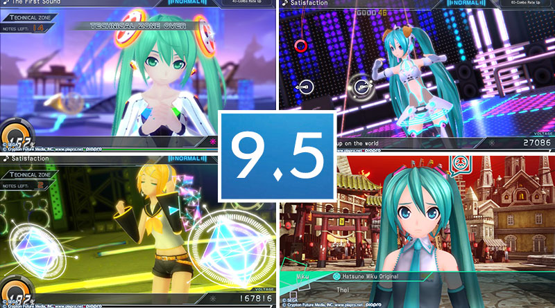 Review Hatsune Miku: Project Diva X PS Vita
